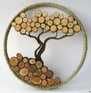 57 Ideas diy wood crafts to sell Wood Design, Diy Design, Walnut Shell Crafts, Pine Cone Decorations, Creation Deco, Diy Holz, Wood Tree, Birch Trees, Wood Slices
