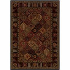 Couristan® Antique Baktiari Rectangular Rugs  found at @JCPenney
