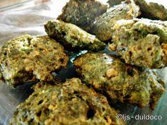 Kale patties from yesterdays juicing :)
