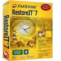 "RestoreIT 7 is based on FarStone's patented ""Advanced System Restore "" technology. RestoreIT 7 is a new and powerful innovation designed to recover your entire PC in 60 seconds for an effortless recovery from any disaster. RestoreIT 7 enables you to instantly recover files system configurations - even an operating system - by literally taking a RestoreIT of your system. Whether you've been hit with a virus attacked by a hacker had a system crash or other unforeseen disasters RestoreIT 7…"