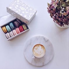 Sometimes only a great coffee & macaroons will do, though