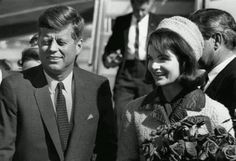 President Kennedy and wife Jackie, in Fort Worth on Nov 22 1963