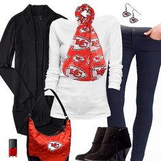 hot sale online 590dc 46e77 49 Best Kansas City Chiefs Fashion, Style, Fan Gear images ...