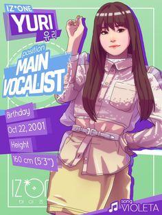 Fandom, Kpop Girl Groups, Kpop Girls, Jin Won, K Pop, Kpop Profiles, Japanese Drawings, Kpop Drawings, Japanese Girl Group