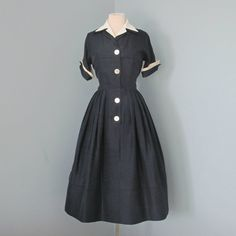Vintage 1960's Day DressDarling Lightweight David by deomas, $98.00