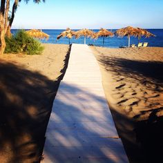 Road to a dream. No, just to our private beach. :) #privat #beach #dream #sea #sand #relax #waves #horizon #swim #sun janholmberg.weebly.com