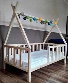 Kleinkinderbett Tipi Montessori Bett Kinder Kinderbett Bett Haus Form Bett - Welcome