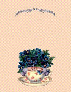 Free Mother's Day Printable Card. #Printables