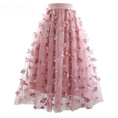 Girly Outfits – Page 1683188913 – Lady Dress Designs Girly Outfits, Skirt Outfits, Pretty Outfits, Stylish Outfits, Denim Fashion, Skirt Fashion, Fashion Dresses, Girls Tulle Skirt, Applique Skirt