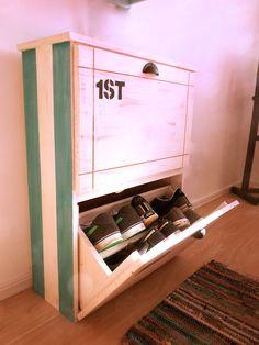Mueble zapatero botinero de madera organizador de zapatos - Muebles para guardar zapatos ...