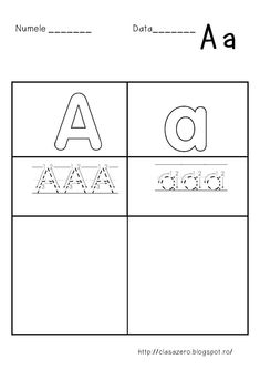 Fise litere   CLASA PREGATITOARE School Lessons, Triangle, Preschool, Playing Cards, Tattoos, Mai, Tatuajes, Kid Garden, Playing Card Games