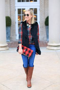 The perfect mix of casual and glam for the holidays!