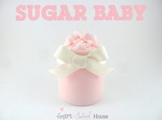 Sugar Baby body polish by Smart School House - baby wash, baby oil & sugar scrub Homemade Scrub, Sugar Scrub Diy, Sugar Scrubs, Salt Scrubs, Homemade Soaps, Homemade Products, Homemade Vanilla, Diy Body Scrub, Diy Scrub