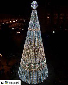 Albero di Natale in Piazza Castello #Torino