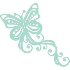 #135800: butterfly flourish