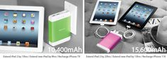 HyperJuice Plug - charge more than one device at a time or get multiple charges for an iPhone and 9 hours for iPad