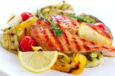 Salmon: Rich of vitamin d and its essential fatty acids have the best #health benefits. It is the best source of omega 3s. Best for your #skin, heart disease and also help in weight loss.
