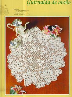 Kira scheme crochet: leaf