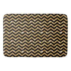 elegant for striped sets bath and bathroom black rugs gold accessories rug white large