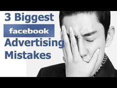 3 Biggest Facebook Advertising Mistakes - facebook advertising tips and strategies | MyOnlineBiz4U2