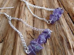 violets and triangles by jeweldesignsbyred on Etsy, $16.00