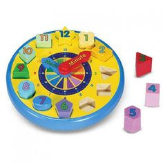Melissa and Doug Shape Sorting Clock from BrightMinds