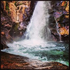 Glen Ellis Falls courtesy of @Emily Schoenfeld George