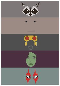 Guardians of the Galaxy - Poster Minimalist by JorisLaquittant on DeviantArt