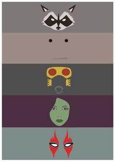 Guardians of the Galaxy - Poster Minimalist by JorisLaquittant on DeviantArt