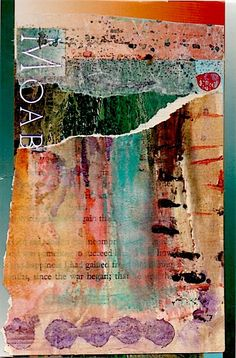 Nancy Bell Scott #MixedMedia collage