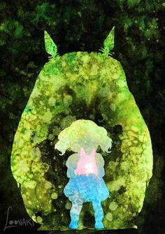 My Neighbor Totoro - Ghibli Series I by Loonaki.deviantart.com on @DeviantArt