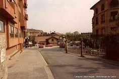 Neguriko geltokia San Ignazio kaletik / Estación del ferrocarril de Neguri desde la calle San Ignacio, 1985 (Cedida por Juan Domingo Echevarria) (ref. 00184)