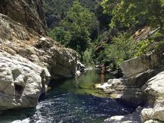 Tucked away in Los Padres National Forest, this section of Tassajara Creek is a favorite spot among local hikers.