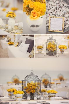 love the bird cage ideas