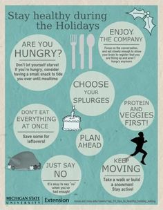 10 #tips to stay #healthy during the #holidays