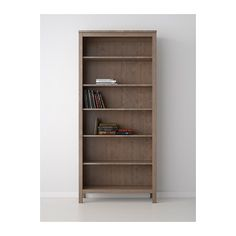 HEMNES Bookcase - grey-brown - IKEA