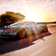 Radiant Aston Martin DBR9