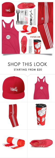 """""""Sweat Sesh: Gym Style (22)"""" by samra-bv ❤ liked on Polyvore featuring adidas"""