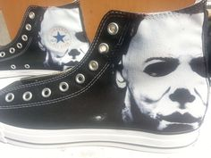 Hey, I found this really awesome Etsy listing at https://www.etsy.com/listing/163984075/halloween-michael-myers-custom-converse