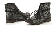 s.Oliver dámská kožená kotníčková obuv 41 černá | MALL.CZ