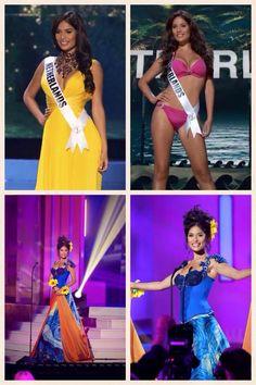 Yasmin Verheijen at the Miss Universe event in Miami.