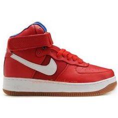 big sale 82b79 f2ae7 318431 661 Nike Air Force 1 High Premium Bobbito Puerto Rico Red C01003  Bryant Lakers,