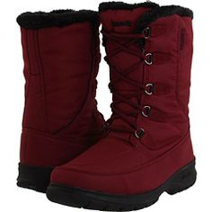 Snow boot, Kamik. Love the color