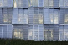 Imagen 3 de 24 de la galería de Nuevo edificio del departamento de ingeniería mecánica / Dominique Perrault Architecture. Fotografía de Vincent Fillon
