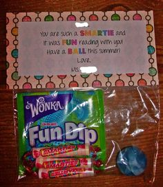Image result for end of year goodie bags for students