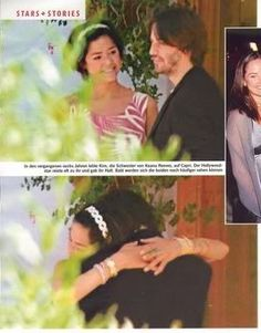 Keanu ♡♥ Reeves with his sister Kim
