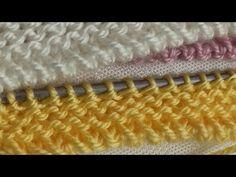 Harika bir örgü başlangıcı... - YouTube Crochet, Mittens, Make It Yourself, Knitting, Diy, Youtube, How To Knit, Dots, Tejidos