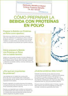 Bebida de Proteína en Polvo    ¡Controle su hambre y manténgase energizado con el poder de la proteína! Añada Bebida de Proteína en Polvo de Herbalife a su batido favorito de Fórmula 1 o mézclela con agua para un nutritivo bocadillo de proteína.