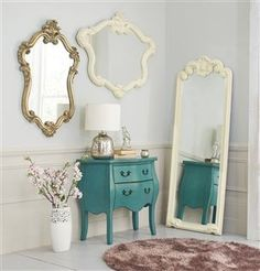 Accentuate your space with stylish mirrors in large, wall & over mantle styles - a perfect way of radiating light. Next Mirrors, Mirror Mirror, Pretty Little, Your Space, Interior Inspiration, Bordeaux, Wall Mount, Oversized Mirror