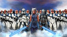 Star Wars is an American epic space opera franchise, created by George Lucas and centered around a film series that began with the eponymous Star Wars Fan Art, Droides Star Wars, Star Wars Girls, Star Wars Pictures, Star Wars Images, Ashoka Star Wars, Starwars, Star Wars Zeichnungen, Disney Cute